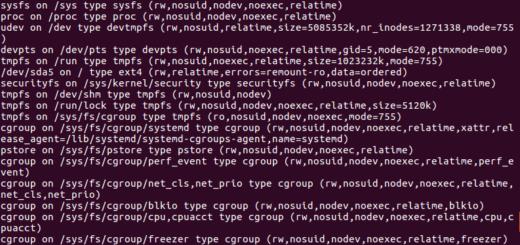 Linux montowanie dysków