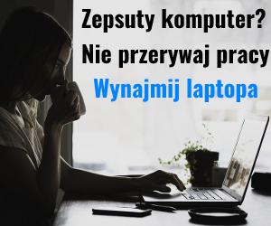 Wynajmij laptopa